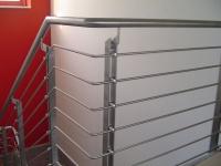 Ein klassisches Treppengeländer